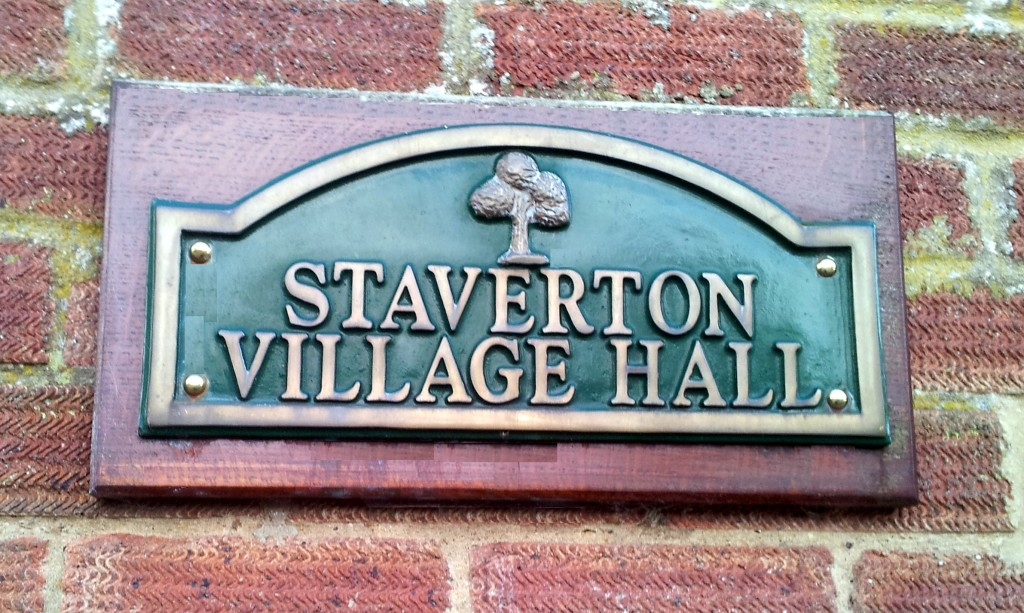 Village Hall Sign b