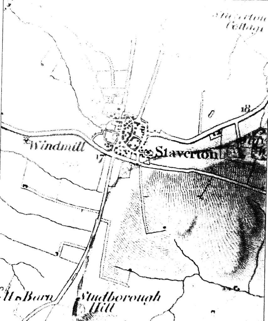 1834 OS Map