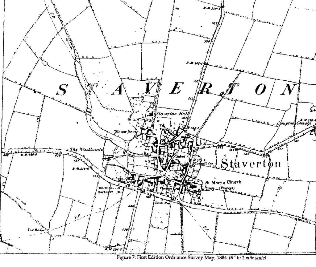 1884 OS Map