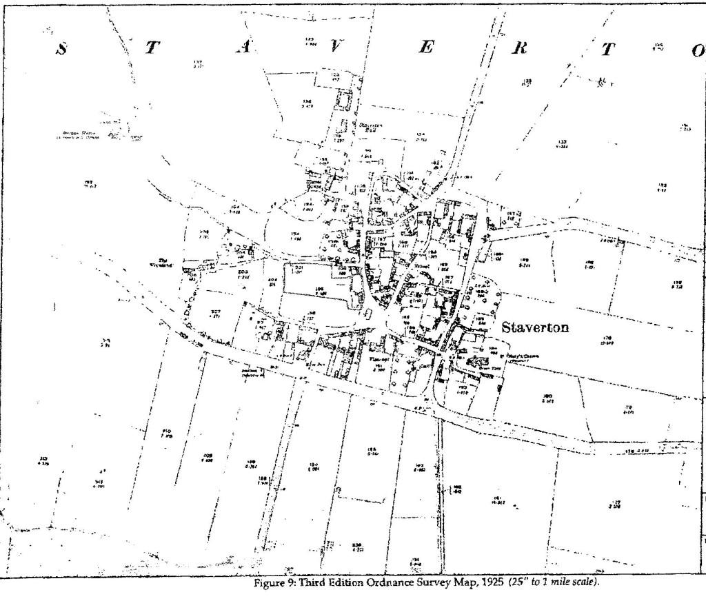 1925 OS Map