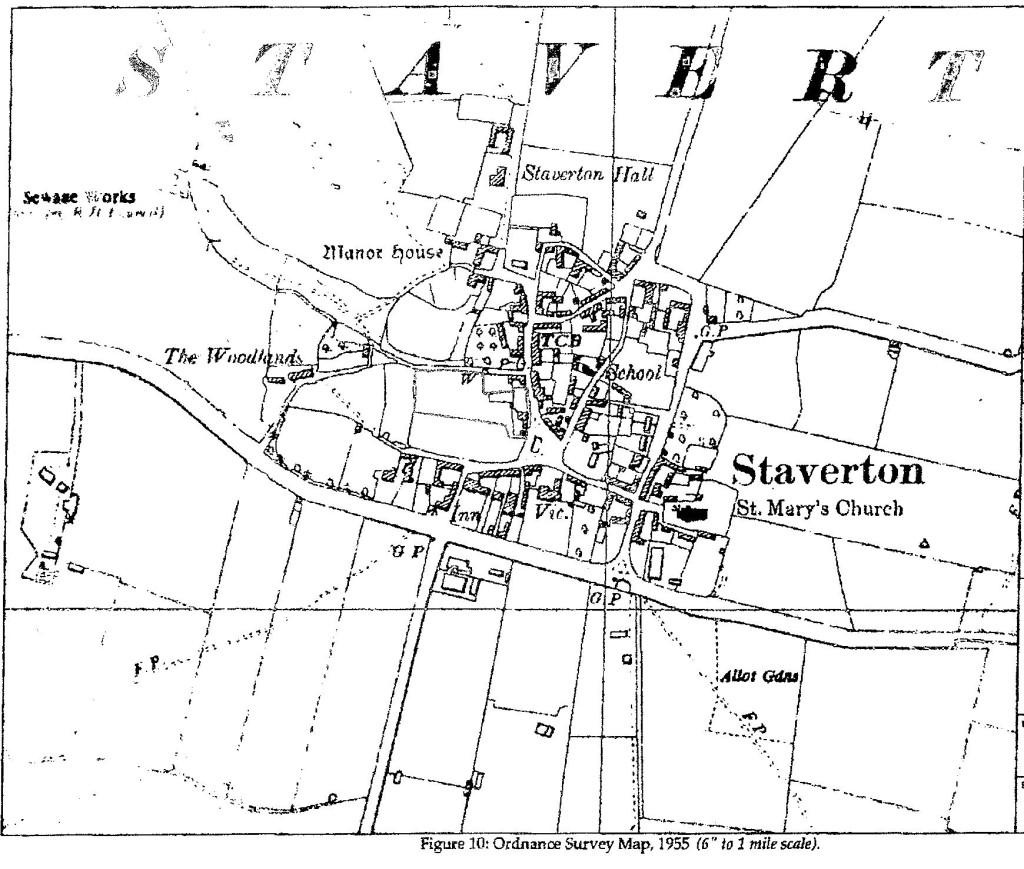1955 OS Map