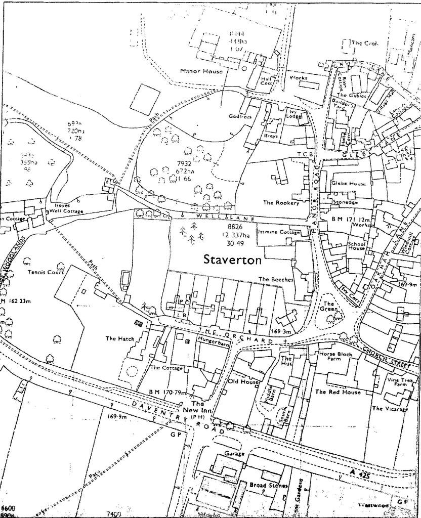 1971 OS Map