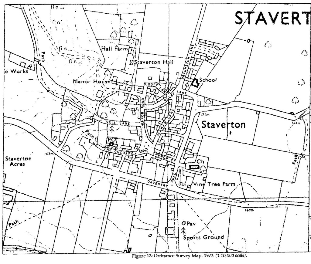 1973 OS Map