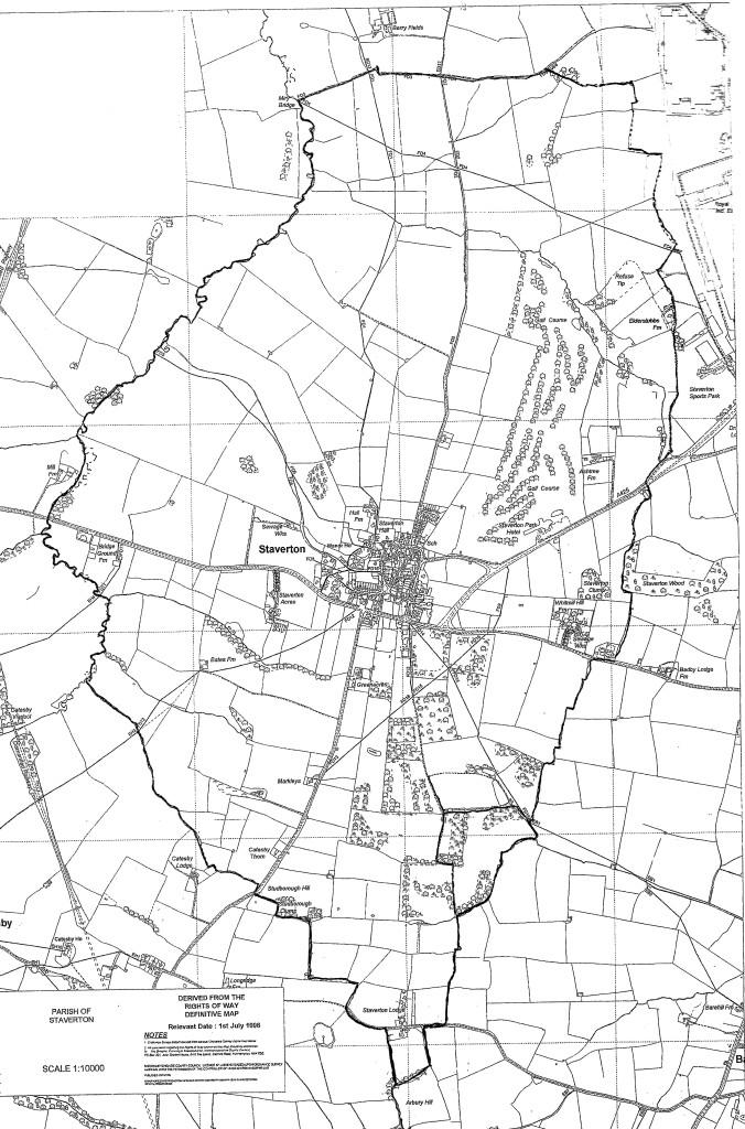 Staverton Parish Map v2
