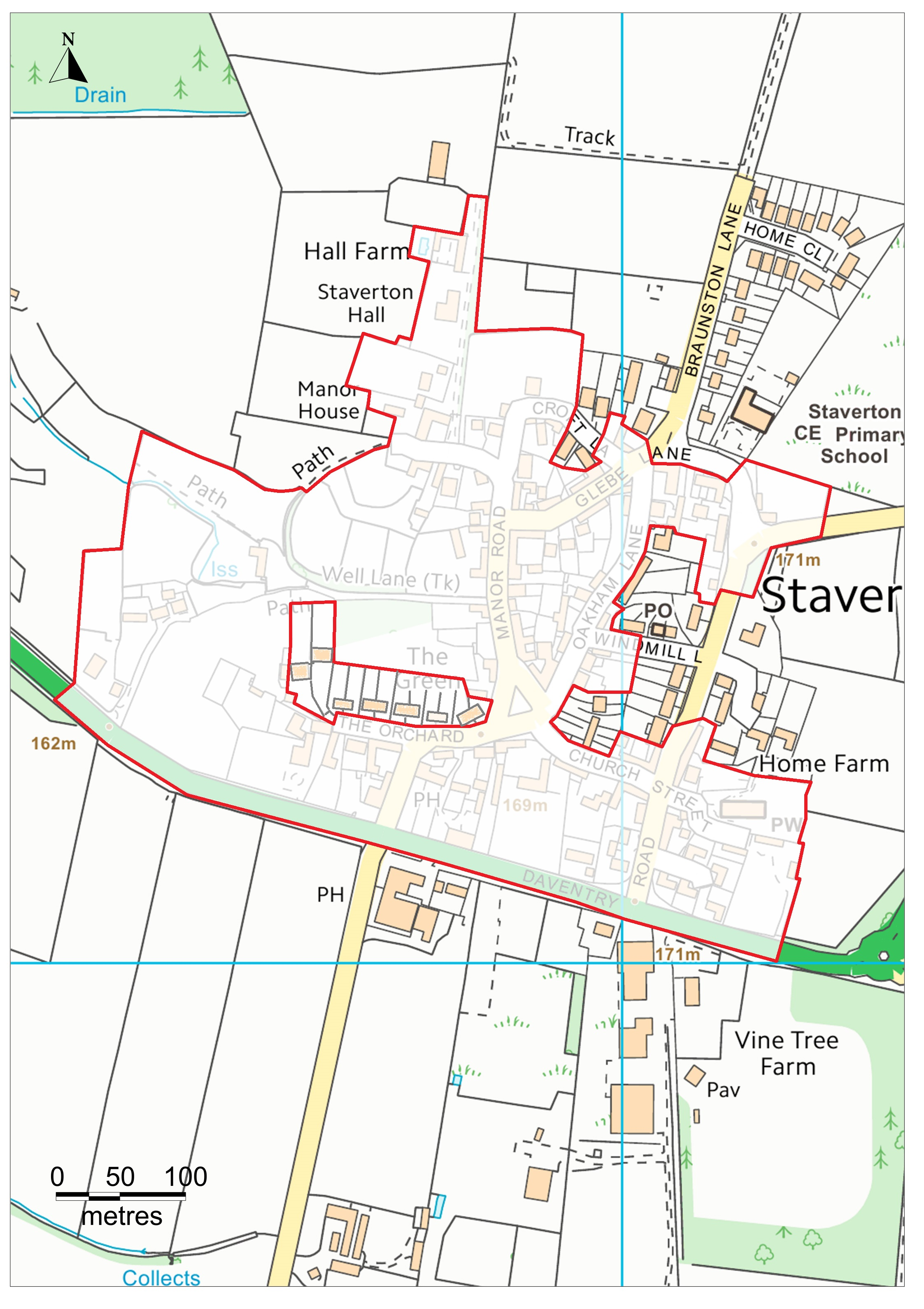 Conservation Map New | Staverton Parish Council