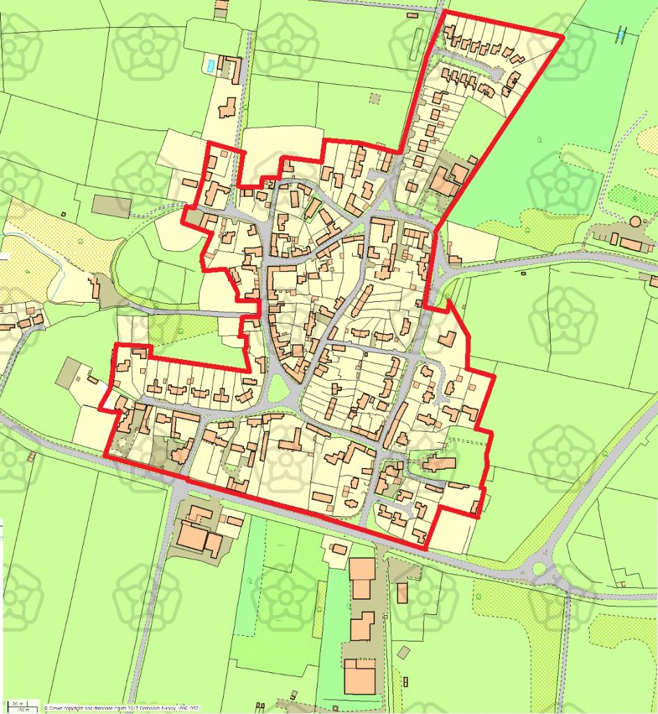 Map 4 - 1 x A4 - single sided - colour