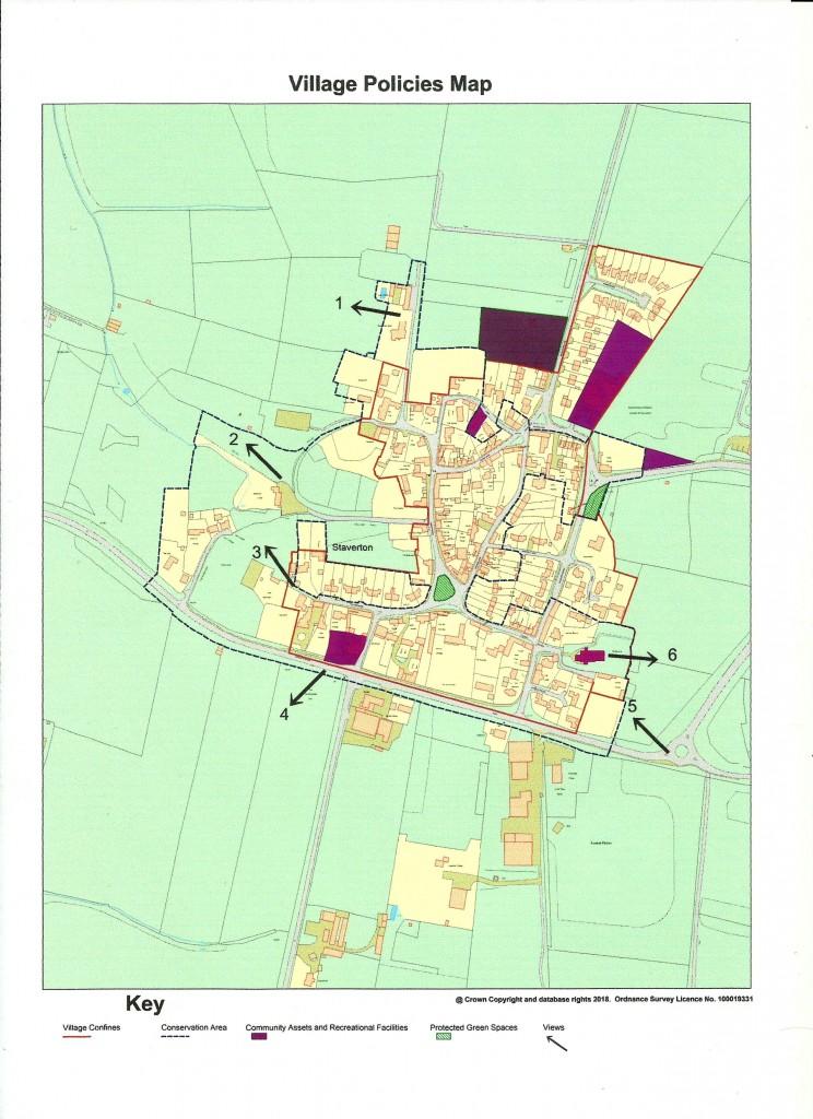 Village Policies Map 300